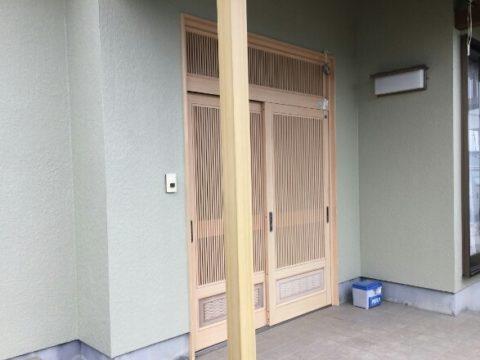 玄関廻り施工後