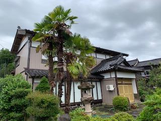 新潟県柏崎市/和風戸建ての外壁塗り替え(ブラウン フッソ系)